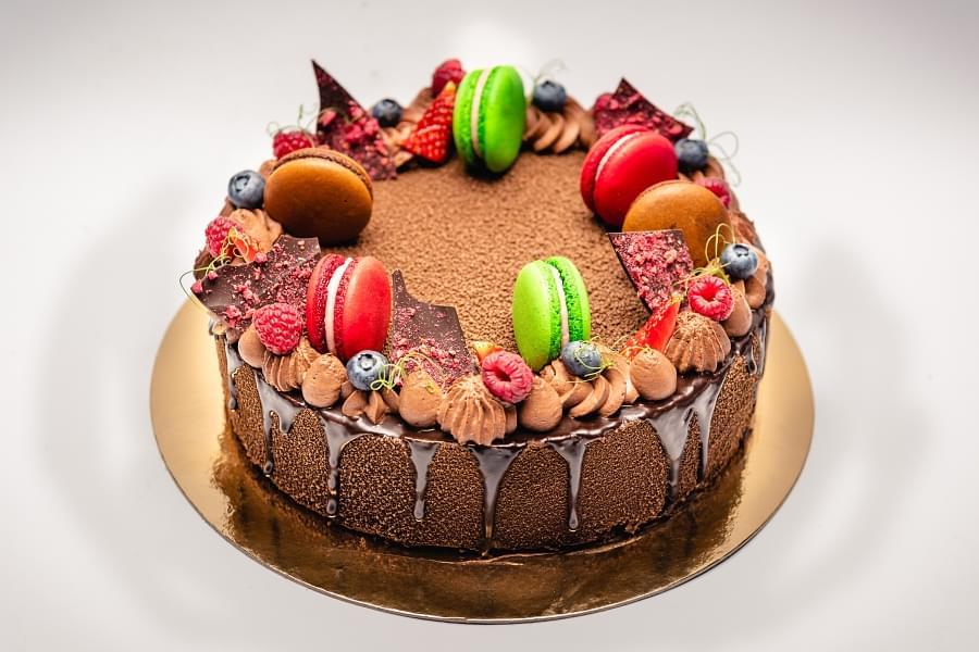 Valrhona dort - 10 porcí